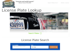 licenseplatesearchapp.com
