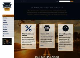 licenserestoration.com