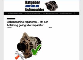 lichtmaschine-reparieren.de