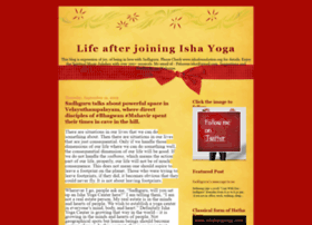 life-after-joining-ishayoga.blogspot.in