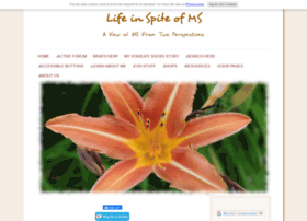 life-in-spite-of-ms.com