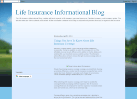 life-insurance-one.blogspot.ca