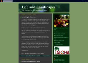 lifeandlandscapes.blogspot.com