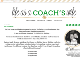 lifeasacoacheswife.blogspot.com