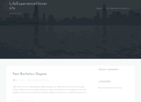 lifeexperienceuniversity.org