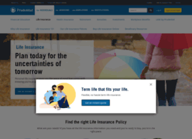 lifeinsurance.prudential.com
