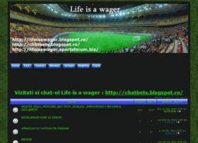 lifeisawager.sportsforum.biz