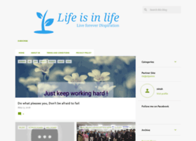 lifeisinlife1.blogspot.in