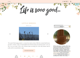 lifeissooogood.blogspot.com