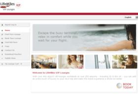 lifemiles.loungepass.com