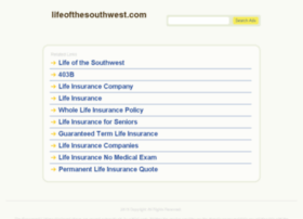 lifeofthesouthwest.com
