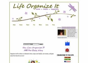 lifeorganizeit.com