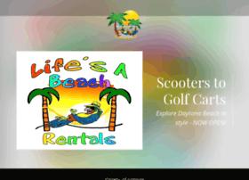 lifesabeachrentals.com