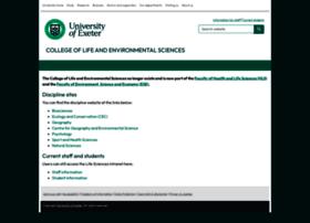 lifesciences.exeter.ac.uk
