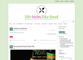 lifetasteslikefood.com