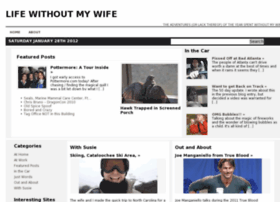 lifewithoutmywife.com