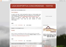 ligadesportivaconcordiense.blogspot.com.br