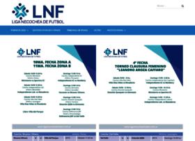 liganecocheafutbol.com.ar