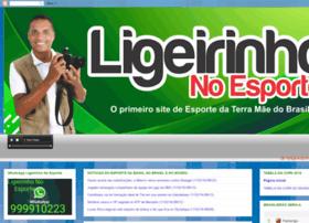 ligeirinhonoesporte.com.br