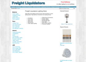 lighting.freightliquidators.com