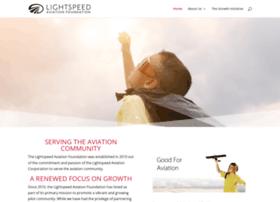 lightspeedaviationfoundation.org