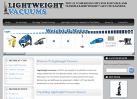 lightweightvacuums.co.uk