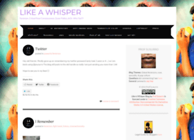 likeawhisper.wordpress.com