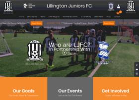 lillingtonjuniorsfc.co.uk