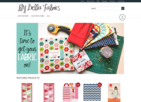 lilybellafabrics.com