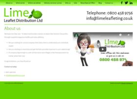 limeleafletdistribution.co.uk
