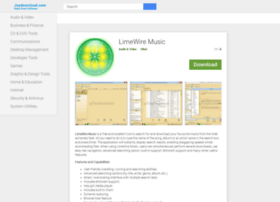 limewire-music.joydownload.com