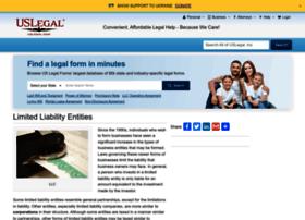 limitedliabilityentities.uslegal.com