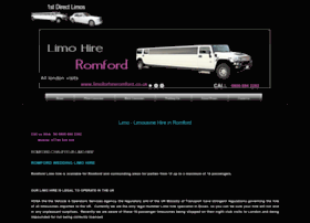 limoforhireromford.co.uk