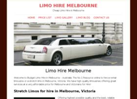 limohireinmelbourne.com