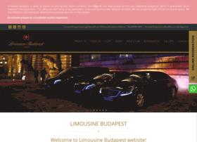 limousinebudapest.hu