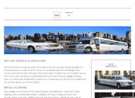 limousineinvancouver.ca