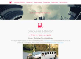 limousinelebanon.com