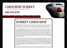 limousinesurrey.com
