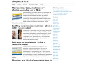 limpiezafacial.net