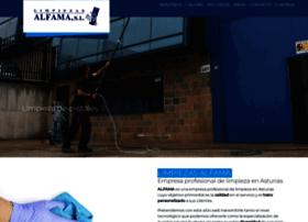 limpiezasalfama.com