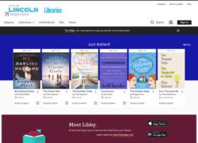 lincoln.libraryreserve.com