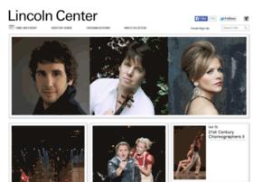 lincolncenter.com