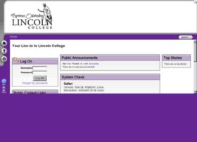 lincolncollege.angellearning.com