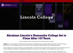 lincolncollege.edu