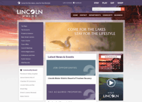 lincolnmaine.org