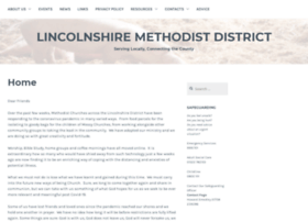 lincolnshiremethodist.org.uk