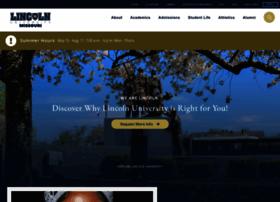 lincolnu.edu