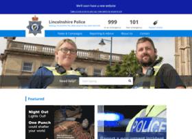 lincs.police.uk
