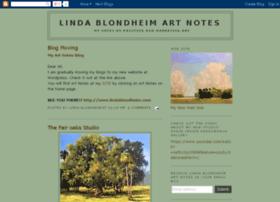 lindablondheimartnotes.blogspot.com