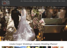 lindacooperweddings.com